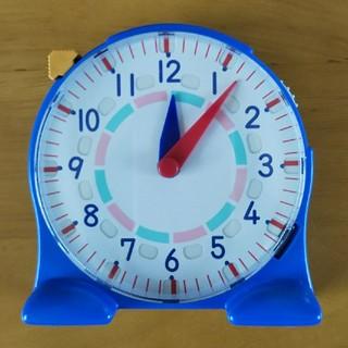 算数セット時計(知育玩具)