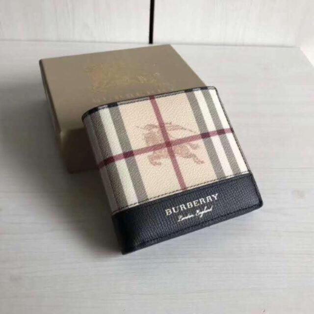 BURBERRY(バーバリー)のBurberry 折りたたみ財布 メンズのファッション小物(折り財布)の商品写真