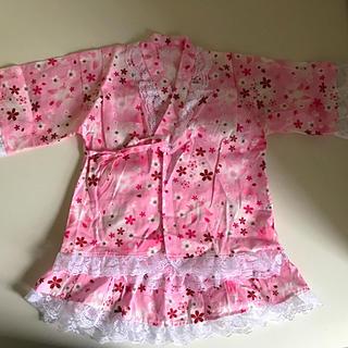 ニシマツヤ(西松屋)のキッズ 浴衣 サイズ110(甚平/浴衣)