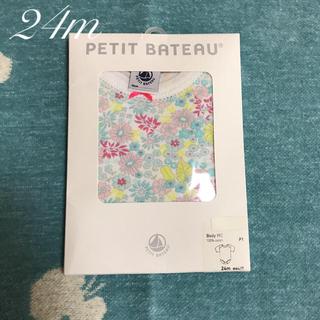 PETIT BATEAU - プチバトー 半袖ボディ 24m