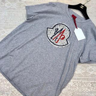 モンクレール(MONCLER)のモンクレール♡レディース レース Tシャツ♡半袖カットソー(Tシャツ(半袖/袖なし))