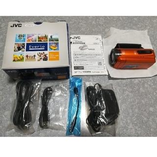 ビクター(Victor)のGZ-R300-D ビクター ビデオカメラ Everio オレンジ【送料込】(ビデオカメラ)