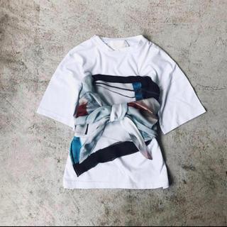 アメリヴィンテージ(Ameri VINTAGE)のジョジョ様専用★AMERI MEDI DRAWING UNEVEN TEE(Tシャツ(半袖/袖なし))