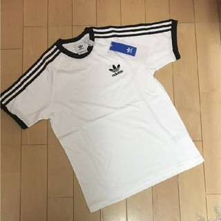 アディダス(adidas)のadidasオリジナルス Mサイズ 3ストライプ Tシャツ(Tシャツ/カットソー(半袖/袖なし))