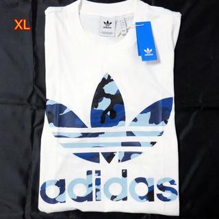 アディダス(adidas)のアディダス オリジナルス Tシャツ XL カモ柄 WH(Tシャツ/カットソー(半袖/袖なし))