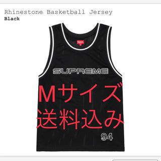 シュプリーム(Supreme)の【Mサイズ送料込み】Rhinestone Basketball Jersey(タンクトップ)