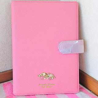 8f7555d526 サマンサタバサ(Samantha Thavasa)のサマンサタバサ プチチョイス フラワーモチーフ 手帳カバー ピンク