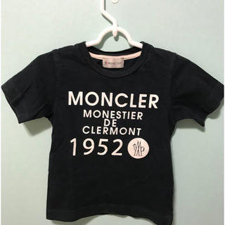 モンクレール(MONCLER)の【92】モンクレール MONCLER キッズ ネイビー半袖Tシャツ(Tシャツ/カットソー)