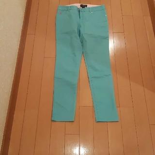ラルフローレン(Ralph Lauren)のラルフローレンカラースキニーパンツターコイズブルー150サイズ(パンツ/スパッツ)