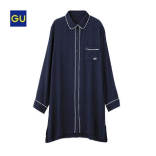 GU - 新品未使用 GU  ラウンジシャツワンピース