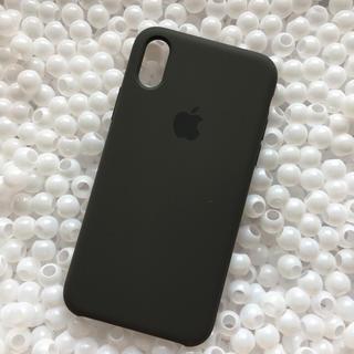 Apple - 箱なし iPhoneX ダークオリーブ Apple 純正 シリコン ケース