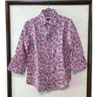 TETE HOMME - ■TETE HOMEM 麻100% 花柄シャツ 美品