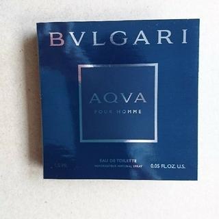 ブルガリ(BVLGARI)のブルガリ アクア プルーオム オードトワレ 1.5ml(香水(男性用))