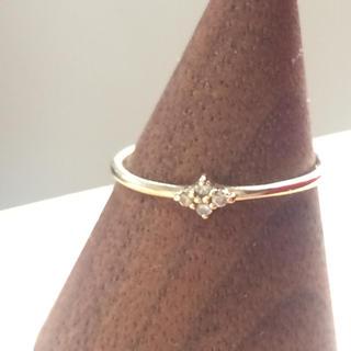 ココシュニック(COCOSHNIK)のココシュニック ダイヤモンドリング k10(リング(指輪))