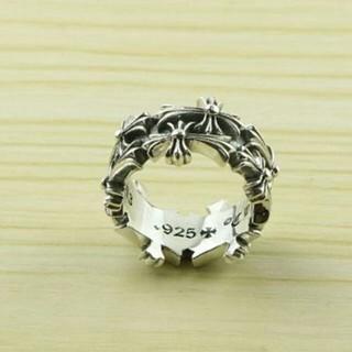 クロムハーツ(Chrome Hearts)のクロムハーツクロスリング(リング(指輪))