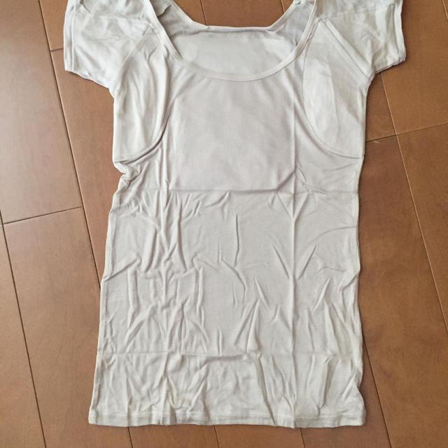 ベルメゾン(ベルメゾン)の新品 ベルメゾン サラリスト 大汗さん フレンチ袖 インナー  M 3枚 レディースの下着/アンダーウェア(アンダーシャツ/防寒インナー)の商品写真