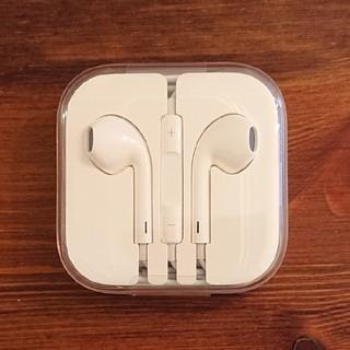 アイフォーン(iPhone)の【未使用・未開封】【送料込み】iPhone6s 付属イヤホン(ヘッドフォン/イヤフォン)