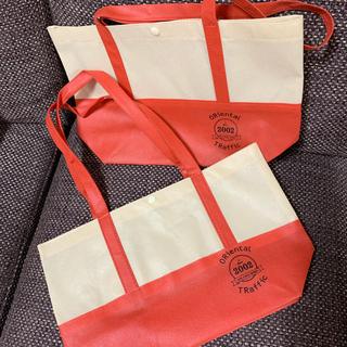 オリエンタルトラフィック(ORiental TRaffic)のオリエンタルトラフィック ショッパー 赤3(ショップ袋)