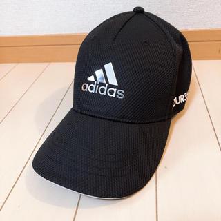 adidas - 美品  adidas  アディダス  キャップ  ブラック  メッシュ