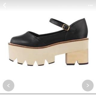 メリージェニー(merry jenny)のmerry jenny 厚底シューズ(ローファー/革靴)