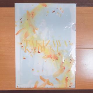 タッキーアンドツバサ(タッキー&翼)の滝沢歌舞伎2016 滝沢秀明 クリアファイル(アイドルグッズ)