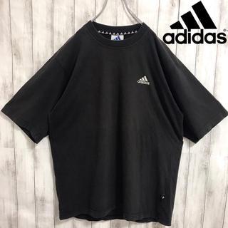 アディダス(adidas)の90s 古着 adidas アディダス ワンポイント刺繍ロゴ Tシャツ(Tシャツ/カットソー(半袖/袖なし))