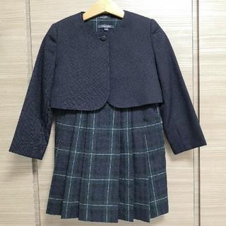 バーバリー(BURBERRY)のバーバリーのアンサンブル 110と115☆ワンピーススーツ 入学式 フォーマル(ドレス/フォーマル)