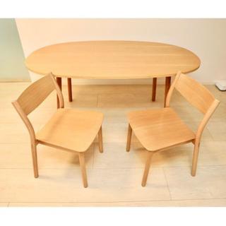 ムジルシリョウヒン(MUJI (無印良品))の無印良品(MUJI)REAL FURNITURE ダイニングテーブル(ダイニングテーブル)