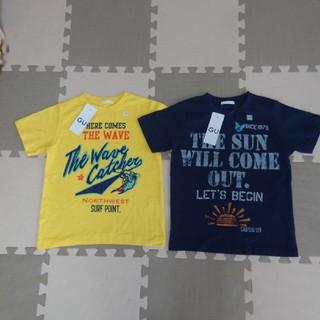 GU - 【新品】GUジーユー 半袖Tシャツ110100 カットソー保育園幼稚園小学校