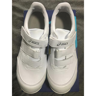asics - アシックス 安全靴 ウィンジョブ 27.0 白