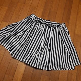 5feaf0162c998c シマムラ(しまむら)の160cm♡ストライプ柄 キュロットスカート(スカート)