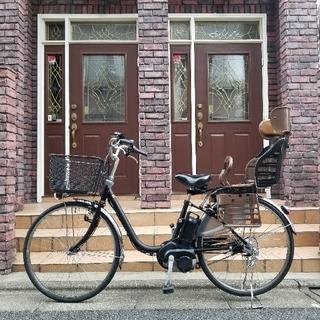 パナソニック(Panasonic)の大容量バッテリー16Ah 1キロ100円で配達 電動自転車 パナソニックvivi(自転車本体)