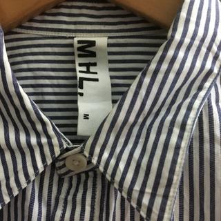 マーガレットハウエル(MARGARET HOWELL)のMHL ストライプシャツ MARGARET HOWELL(シャツ)