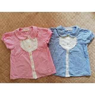 ウィルメリー(WILL MERY)のWill Mery 半袖シャツ 二枚セット 100(Tシャツ/カットソー)
