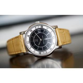 ブルガリ(BVLGARI)の美品 ブルガリ ソロテンポ ST35S ブラック メンズ Bvlgari(腕時計(アナログ))