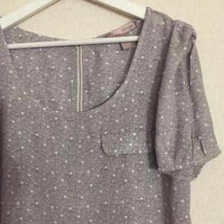 FOREVER 21 - 【新品未使用 タグ無】Forever21 Tシャツ 水玉 カットソー Lサイズ