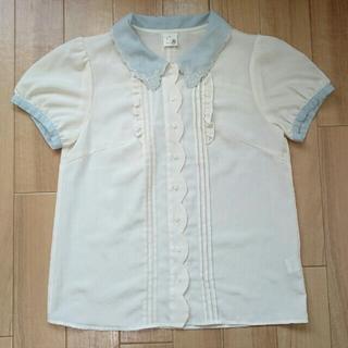 アロー(ARROW)のa.r.w  半袖  ブラウス(シャツ/ブラウス(半袖/袖なし))