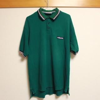アディダス(adidas)のadidas メンズ シャツ 緑 【古着】(Tシャツ/カットソー(半袖/袖なし))
