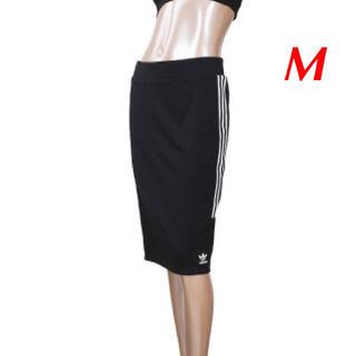 adidas - 【レディースM】黒  3ストライプス スカート