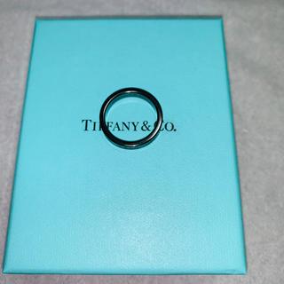 Tiffany & Co. - ティファニーリング 18号 チタン