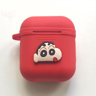 アップル(Apple)のAirPods用シリコンケースクレヨンしんちゃんエアーポッズケース      (モバイルケース/カバー)