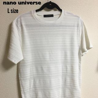 nano・universe - 夏にオススメ!ナノユニバース Tシャツ