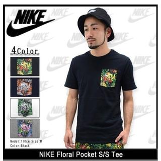 2fcfdd4130a1a ナイキ(NIKE)の美品 ナイキ ボタニカル フローラル フラワー ポケット Tシャツ Sサイズ