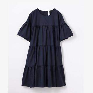 トゥモローランド(TOMORROWLAND)の18SS Merlette マーレット ティアード ドレス ワンピース(ひざ丈ワンピース)