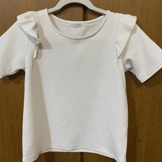 ローリーズファーム(LOWRYS FARM)のフリル トップス(シャツ/ブラウス(半袖/袖なし))