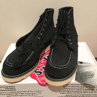 レッドウィング(REDWING)のレッドウイング ブラックスエードブーツ 8874(ブーツ)