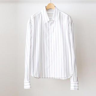 SUNSEA - URU 19ss コットンショートシャツ size1