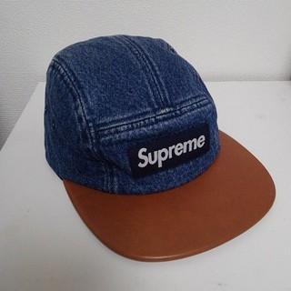 94239a6f1ae22 シュプリーム(Supreme)の希少 シュプリーム デニム キャップ 帽子 Box Logo hat(キャップ)