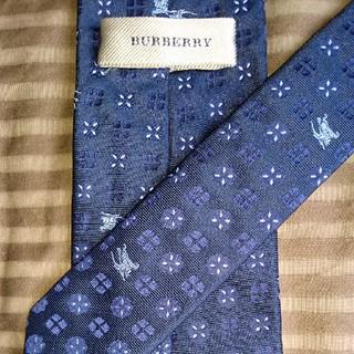 バーバリー(BURBERRY)の☆【バーバリー】 ホースロゴ ネクタイ(ネクタイ)