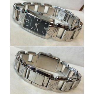 d12f166216 バーバリー(BURBERRY)のBurberry(バーバリー) シグネチャー ブラック レディース 腕時計(腕時計)